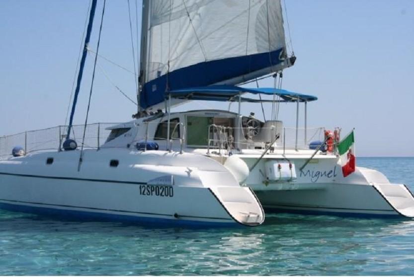 Noleggio catamarano stintino sardegna for Noleggio cabina del parco nazionale voyageurs